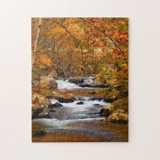 USA, Tennessee. Rushing Mountain Creek Jigsaw Puzzle