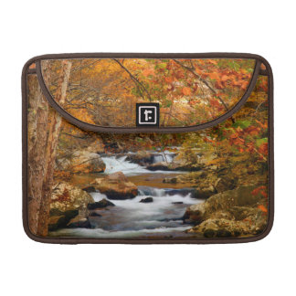 USA, Tennessee. Rushing Mountain Creek Sleeve For MacBooks