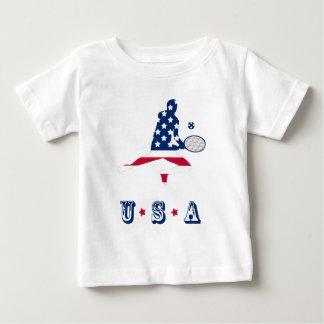 USA Tennis American player Baby T-Shirt