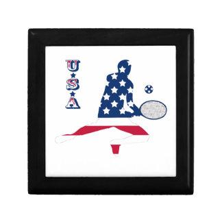 USA Tennis American player Gift Box