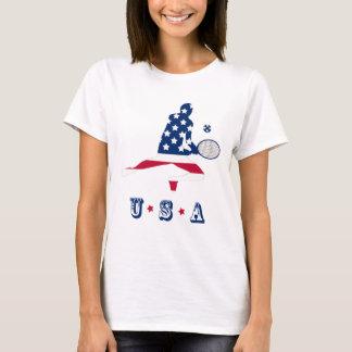 USA Tennis American player T-Shirt
