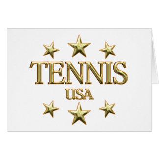 USA Tennis Greeting Card