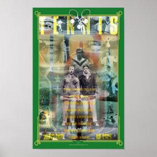 USA Tennis History Poster