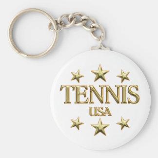 USA Tennis Key Chains