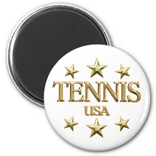 USA Tennis Fridge Magnets