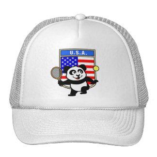 USA Tennis Panda Hats