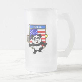 USA Tennis Panda Coffee Mug