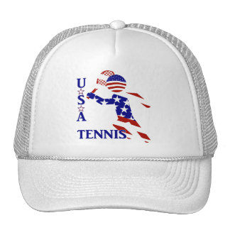 USA Tennis Player - Men's Tennis Hat