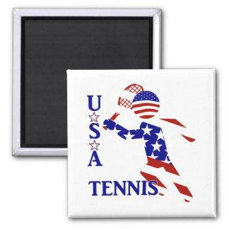 USA Tennis Player - Men's Tennis Magnet