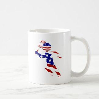 USA Tennis Player - Mens Tennis Mug