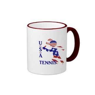 USA Tennis Player - Men's Tennis Mug