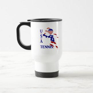 USA Tennis Player - Men's Tennis Coffee Mugs