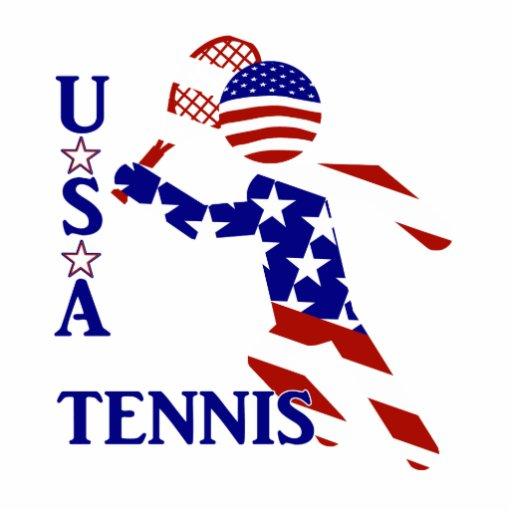 USA Tennis Player - Men's Tennis Photo Sculpture