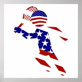 USA Tennis Player - Mens Tennis Poster