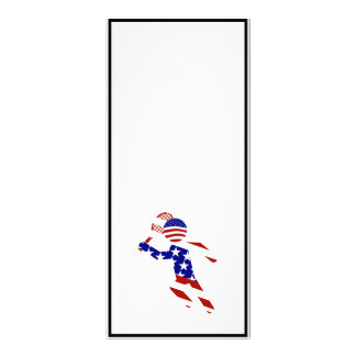 USA Tennis Player - Mens Tennis Personalized Rack Card