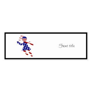 USA Tennis Player - Women's Tennis Business Card Template