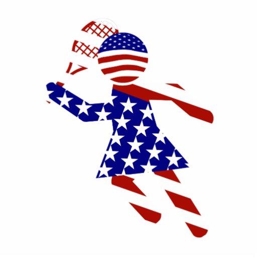 USA Tennis Player - Women's Tennis Photo Cut Outs