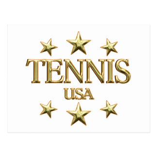 USA Tennis Postcard