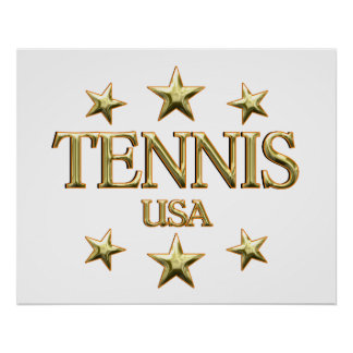 USA Tennis Posters