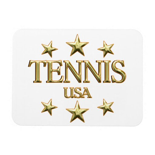USA Tennis Magnet
