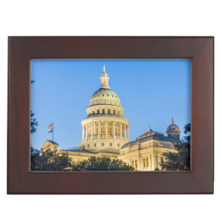 USA, Texas, Austin. Capitol Building (1888) 3 Memory Boxes