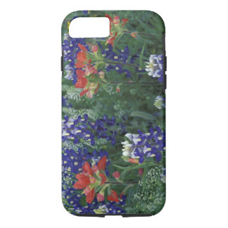 USA, Texas Hill Country. Bluebonnets and iPhone 8/7 Case