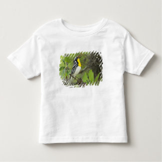 USA, Texas, Hill Country. Male yellow-throated Toddler T-Shirt