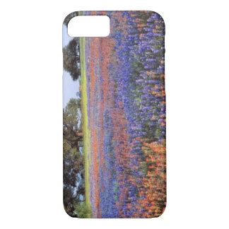 USA, Texas, Llano. Bluebonnets and redbonnets iPhone 8/7 Case
