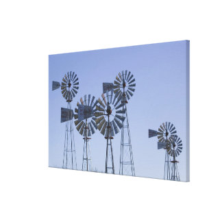 USA, TEXAS, Lubbock: American Wind Power Center Canvas Print