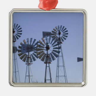 USA, TEXAS, Lubbock: American Wind Power Center Christmas Ornament
