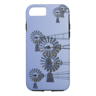 USA, TEXAS, Lubbock: American Wind Power Center iPhone 7 Case