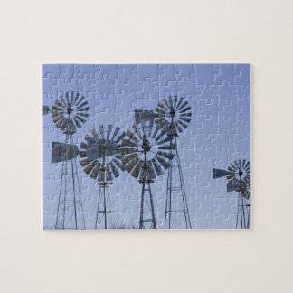 USA, TEXAS, Lubbock: American Wind Power Center Jigsaw Puzzle