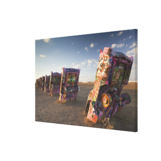 USA, TEXAS, Panhandle Area, Amarillo: Cadillac 2 Canvas Print