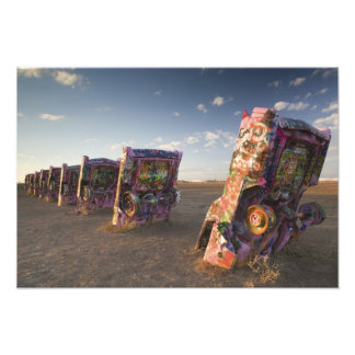 USA, TEXAS, Panhandle Area, Amarillo: Cadillac 2 Photo Print