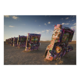USA, TEXAS, Panhandle Area, Amarillo: Cadillac 2 Poster