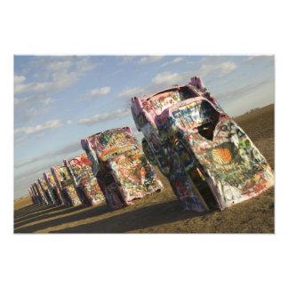 USA, TEXAS, Panhandle Area, Amarillo: Cadillac Art Photo