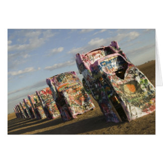 USA, TEXAS, Panhandle Area, Amarillo: Cadillac Card
