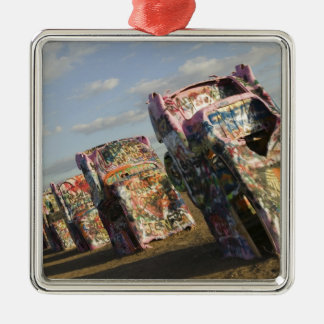 USA, TEXAS, Panhandle Area, Amarillo: Cadillac Christmas Ornament