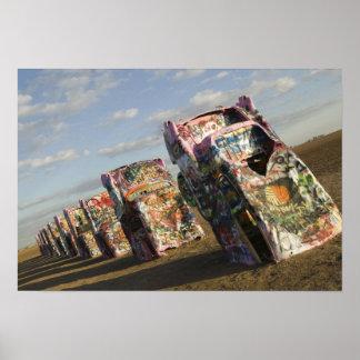 USA, TEXAS, Panhandle Area, Amarillo: Cadillac Poster