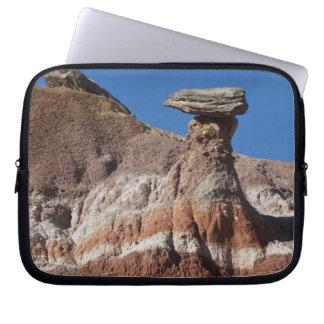 USA, Texas, Panhandle, Hoodoo Laptop Sleeve