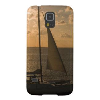 USA, Texas, South Padre Island. Sailboat Galaxy S5 Covers