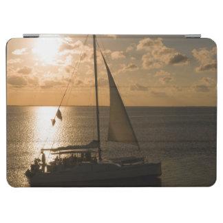 USA, Texas, South Padre Island. Sailboat iPad Air Cover