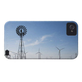 USA, Texas, Vega, Old ranch windmill and water iPhone 4 Cover