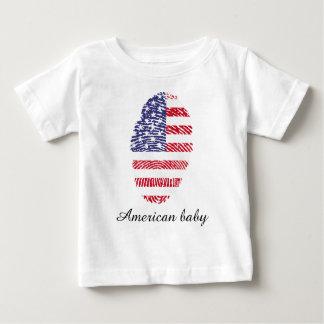 Usa touch fingerprint flag baby T-Shirt