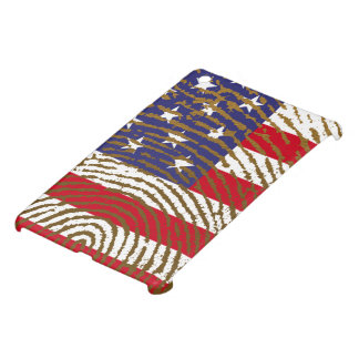 Usa touch fingerprint flag iPad mini case