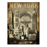 USA travel landmark vintage New York