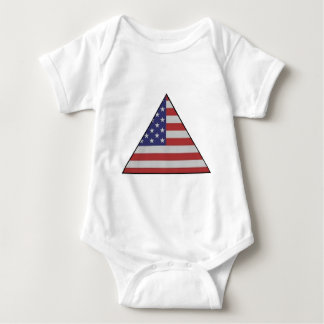 USA TRIANGLE.jpg Baby Bodysuit