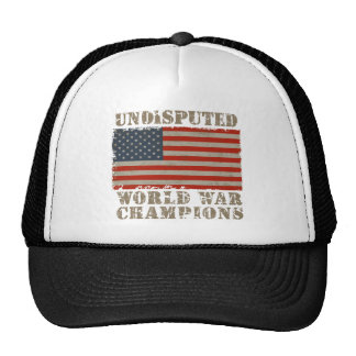 USA, Undisputed World War Champions Cap