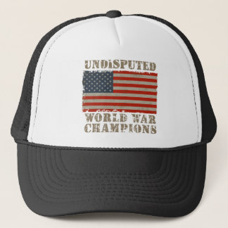 USA, Undisputed World War Champions Trucker Hat