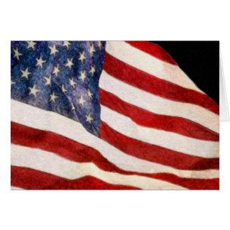 USA...USA...USA GREETING CARD